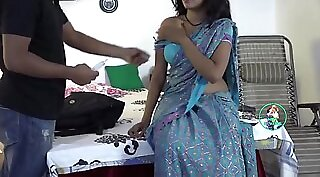 indian nurse fucking her man