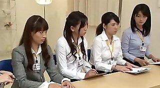 Bosomy Japanese hoe Yuki Komine gives blowjob and gets fingerfucked