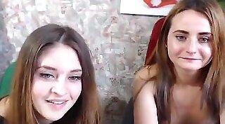 Big tits girl fucks herself with webcam