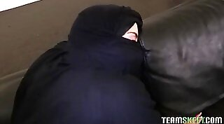 Arab pov wife Hungry Woman Gets Food and Fuck