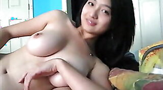 Chinese blond girl paid by the brothel for a lucky guy