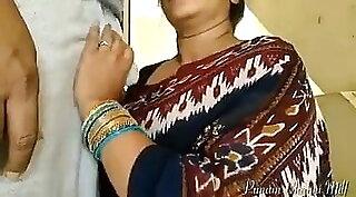 Best cute blowjob by Indian scissor girl