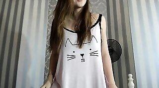 Cute amateur teen webcam group sex