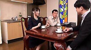 Charming Japanese wife enjoying BDSM enjoyment