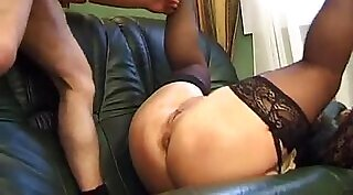 French Mature Futa takes a break to suck dick at gym