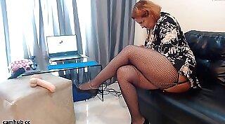Chantone & Veronica Monette & Bethany Hewitt - Mature Ass Fucked On Webcam