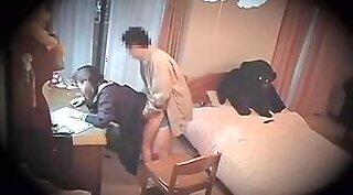 Boy doing girl hidden video on computer