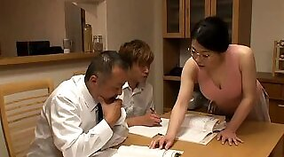 Hot MILF Barbara gets a little rough and hardcore fucked foursome