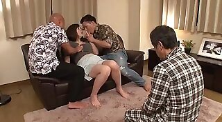 Cuckold wife fucked with young boy